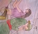 Petit dessin très mal fait par moi mais bon c'est mon couple préféré ^^