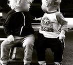 #littlebear #riverisaac #cousins #tropchoux <3