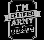 Je suis certifié A.R.M.Y !