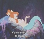 Une des sirènes - Peter Pan