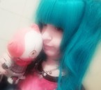 With plush Pennywise <3