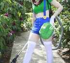 Cosplay Luigi mansion version girl
