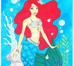 Ariel la petite sirène.