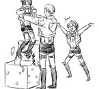 Levi et Hanji