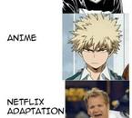 Versions de Bakugo