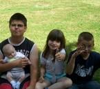 Je vous adore mes 4 enfants