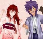 Azuko & Zakiel (Les enfants d'Anko et Haziel) //Avec Panpan