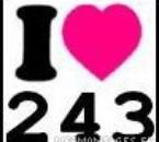 I love 243
