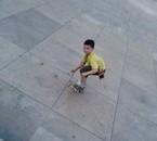 Mon ptit skater en herbe!