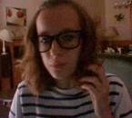 Chloé with a Webcam