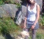 moi et mon chien Milor