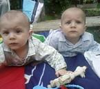 mes petits cousin adore Lucas et Charli