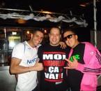 DJ FREDINE , DJ KAYZ et MC KRYMO