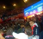 PSG - AUXERRE Tribune G Rougee