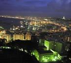 Alger (Algérie) la nuit