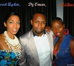 Ayden animatrice tv, Dj Omar & Médina au défilé de mode Vlis