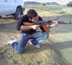 this is me whith a real gun