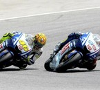 rossi VS lorenzo au grand prix de catalogne...ma passion!!
