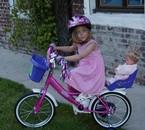laurene en vélo