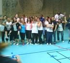 Interclasse de Volley des 4eme. Année 2008-2009