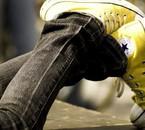 Converse jaune ;)