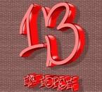 13 en force