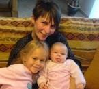 laurence ma fille et ses  deux  enfants