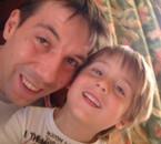 mon fils  nicolas  avec son  fils