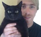 moi et ma chatte ^^
