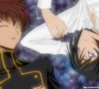 Suzaku & Lelouch ( Code geass )