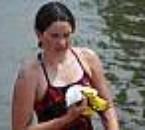 mwa a la sorti du 2,5 km eau libre au lac kir