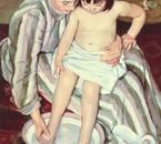 Cassatt Mary The Bath (1891)
