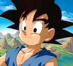 Petit Sangoku dans la serie Dragonball gt.