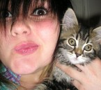 Elya &Me (L) Cat of My Heart