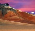 Crépuscule bolivien