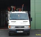 un des camion de l'atelier du reservoir
