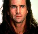 """j'adore l'acteur """"Mel Gibson"""" dans le film """"Braveheart"""""""