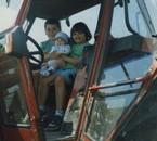 Moi, ma soeur émilie et mon frère sébastien