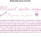 Texte pour Wissal <3