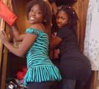 daisy et moi en mode pesa mokongo