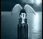 Ange noir triste