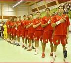 equipe national du maroc cadets handball!!!!