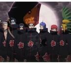 Akatsuki,organisation secrète de puissants ninja dans Naruto