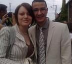 mon cousin Steph et sa femme Emilie