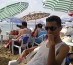 un arret sur la plage
