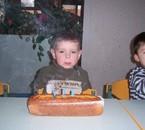 mon fils  et ses trois ans a l'ecole