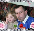 cassandra et son papa