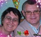 lysiane et son mari