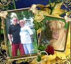 mon mari et moi et notre caline