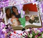 lysiane et sa fille et mathis